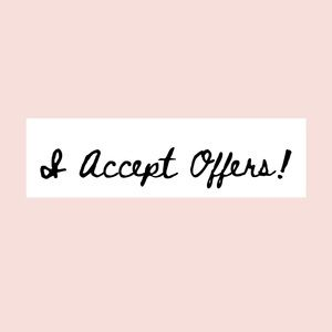Accessories - Send me your offers!